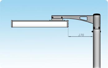 GSU с консольным креплением